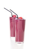 Fresh organic berry smoothie Stock Photography