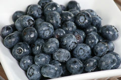 Fresh organic blueberries Stock Photos