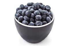 Fresh organic blueberries Stock Image