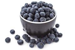Fresh organic blueberries Stock Photos
