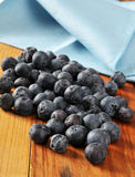 Fresh organic blueberries Royalty Free Stock Photos