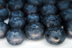 Fresh Organic Blueberry Snack Stock Photography
