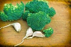 Fresh organic broccoli Stock Photo