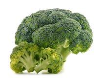 Fresh organic broccoli on white Royalty Free Stock Photo