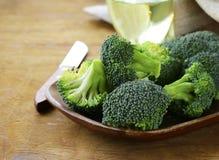 Fresh organic cabbage green broccoli. Royalty Free Stock Photography
