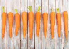 Fresh Organic Carrots Stock Photography