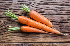 Fresh organic carrots. Stock Photography