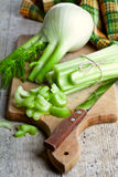 Fresh organic celery and fennel Royalty Free Stock Photography