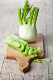 Fresh organic celery and fennel Royalty Free Stock Photos