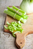 Fresh organic celery and fennel Stock Image