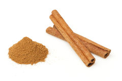 Fresh Organic Cinnamon Royalty Free Stock Photos