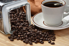 Fresh organic coffee Royalty Free Stock Image