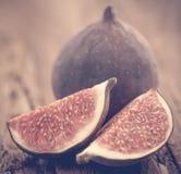 Fresh organic common fig Stock Photography
