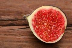 Fresh organic common fig Stock Photos