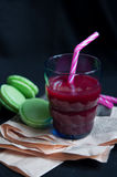 Fresh organic cranberry juice Royalty Free Stock Photos