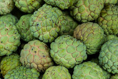 Fresh organic custard apples Stock Photos