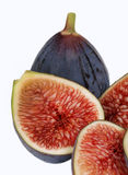 Fresh, organic figs Stock Photos