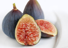 Fresh, organic figs Royalty Free Stock Photo