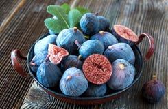 Fresh organic figs Royalty Free Stock Photo