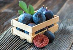 Fresh organic figs Stock Photography