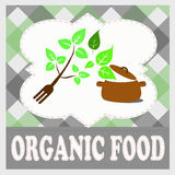 Fresh and organic food, eco food concept Royalty Free Stock Images