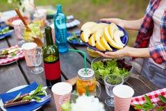 Fresh organic food Royalty Free Stock Photos