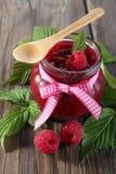 Fresh organic fruit - raspberry Stock Photos