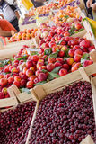 Fresh organic fruit from Serbia Stock Photos