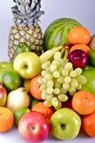 Fresh Organic Fruits Basket Royalty Free Stock Images
