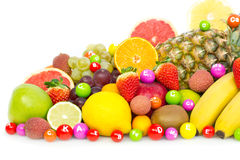 Fresh organic fruits Royalty Free Stock Photo