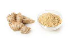 Fresh Organic Ginger Stock Image