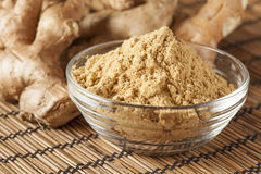 Fresh Organic Ginger Stock Photography