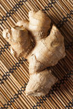Fresh Organic Ginger Stock Photo