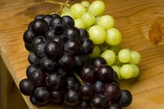 Fresh organic grapes Royalty Free Stock Image