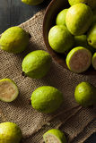 Fresh Organic Green Guava Royalty Free Stock Photo