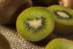 Fresh Organic Green Kiwi Royalty Free Stock Photo