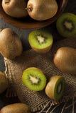Fresh Organic Green Kiwi Royalty Free Stock Image