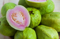 Fresh organic guava fruit. On the table Stock Photography