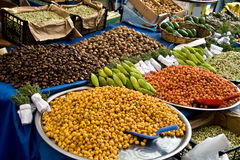 Fresh Organic Hawthorns At A Street Market Stock Photo