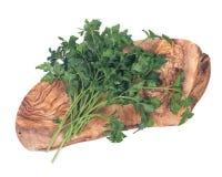 Fresh organic italian parsley Royalty Free Stock Images