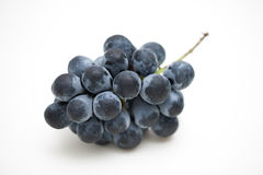 Fresh organic Japanese grapes with white background Stock Photography