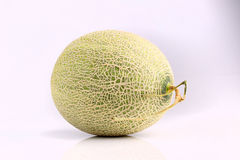Fresh organic Japanese melon isolated on white background Royalty Free Stock Image