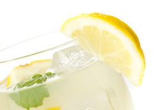Fresh Organic Lemonade with mint leaves Royalty Free Stock Photo