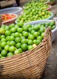 Fresh Organic Limes stock photography