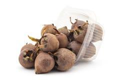Fresh organic medlars Stock Images