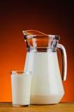 Fresh organic milk Royalty Free Stock Photo