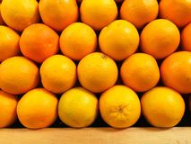 Fresh Organic Oranges For Sale Stock Photos