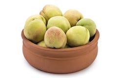 Fresh organic peaches. Åeftelija royalty free stock images