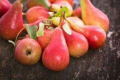 Fresh organic pears Royalty Free Stock Photography