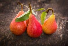 Fresh organic pears Stock Image